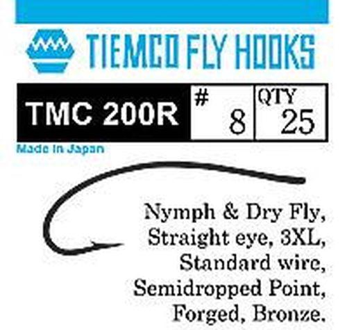 Tiemco TMC 200R Fluekroker