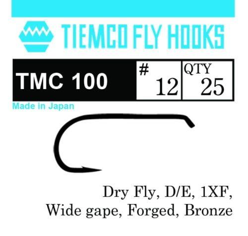 Tiemco TMC 100 Fluekroker