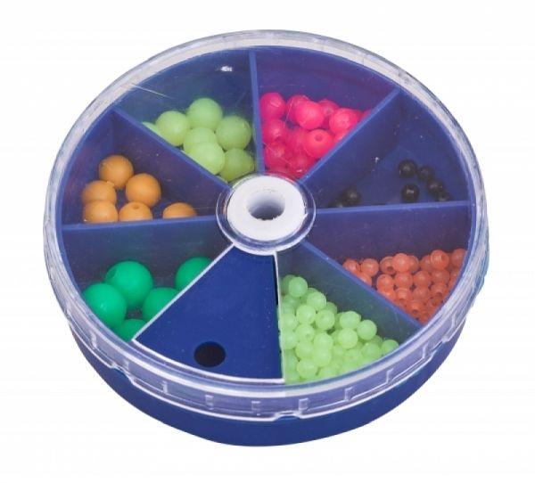 Assorted Bead Dispenser Boks Pærler & Gummikuler