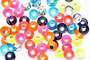 Futurefly Ufo Disc 6mm Cones, Beads & Øyne