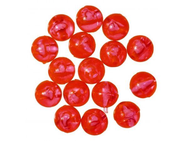 Gunki Carolina Red Bead Pærler & Gummikuler