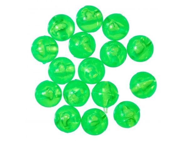 Gunki Carolina Chartreuse Bead Pærler & Gummikuler
