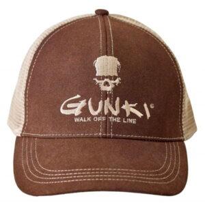 Gunki Brown Trucker Cap Capser og Luer