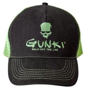 Gunki Black Trucker Cap Capser og Luer