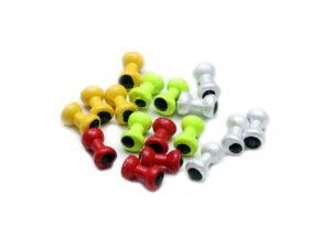 Painted Lead Eyes Cones, Beads & Øyne
