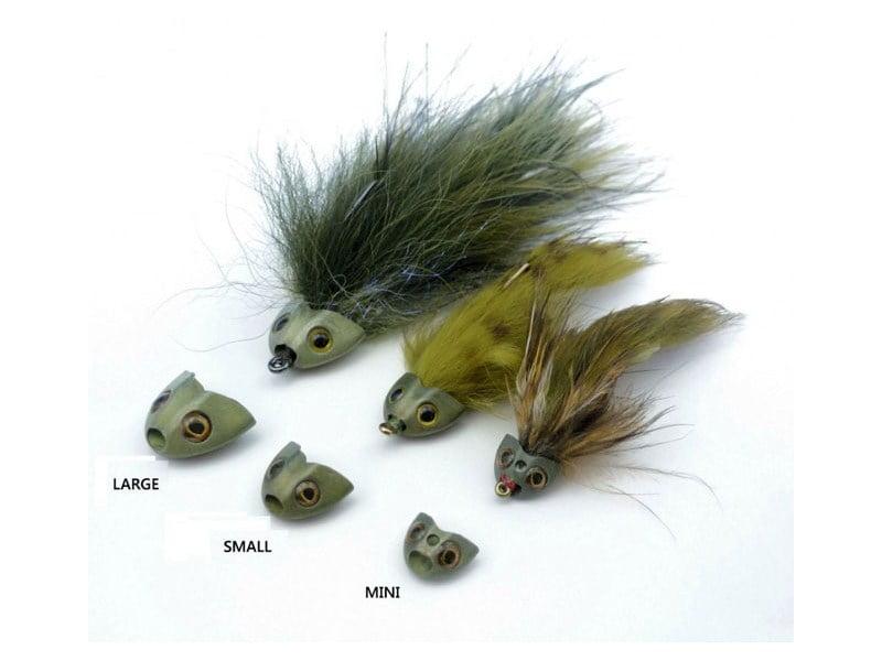 Fish Skull Sculpin Helmet Cones, Beads & Øyne