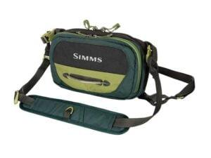 Simms Freestone Chest Pack Shadow Green Bags & Packs
