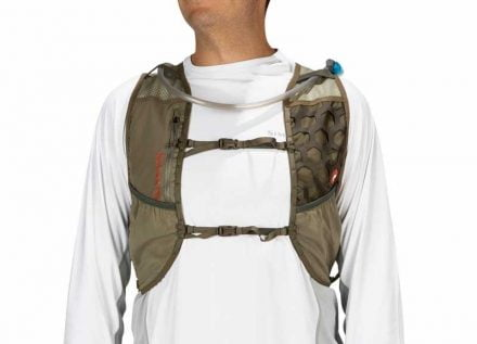 Simms Flyweight Vest Pack Tan L XL Bags & Packs