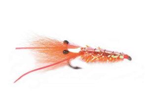 Orange Glimmer Reke Krok 6 Saltvannsfluer