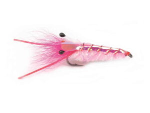 Pink Glimmer Reke Krok 6 Saltvannsfluer
