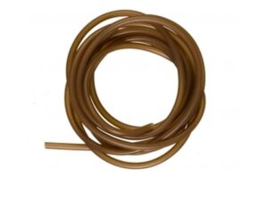Starbaits Silicone Tubing 1.5m 0.6mm Muddy Brown Meite Tilbehør