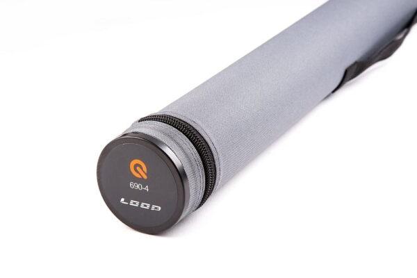 Loop Q-Rod 9 Fot Medium Fast 4-delt Enhånds Fluestenger
