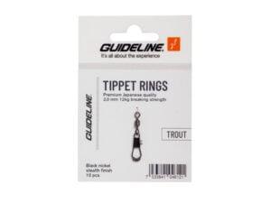 Guideline Tippet Rings 2mm/12kg Fluefiske Tilbehør