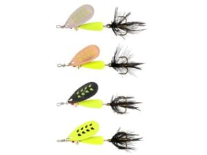 Abu Droppen Fluo Chartreuse Spinnere