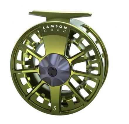 Lamson Guru S Olive Green Fluesneller